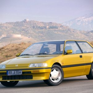 HONDA CIVIC 3D хэтчбек 1987-1991